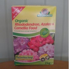 Neudorff Organic Rhododendron Azalea and Camellia Food with mycorrhiza