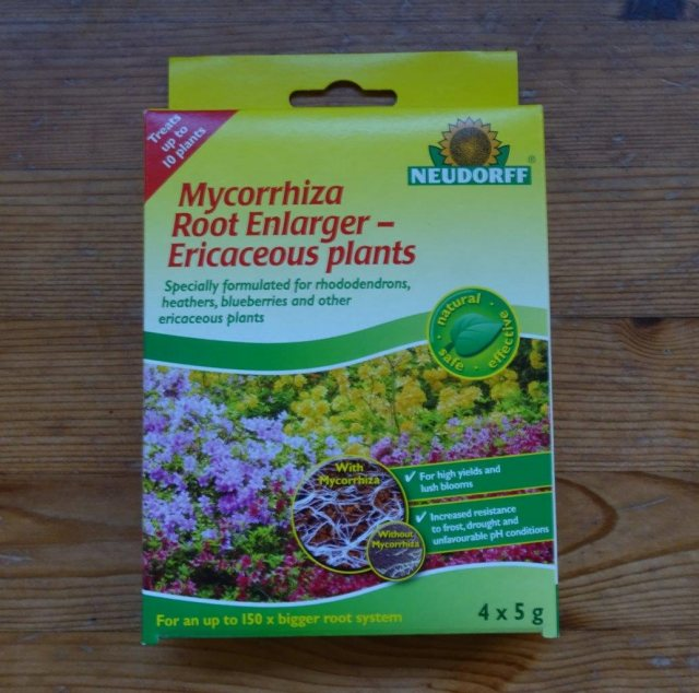 Neudorff Mycorrhiza root enlarger - Ericaceous